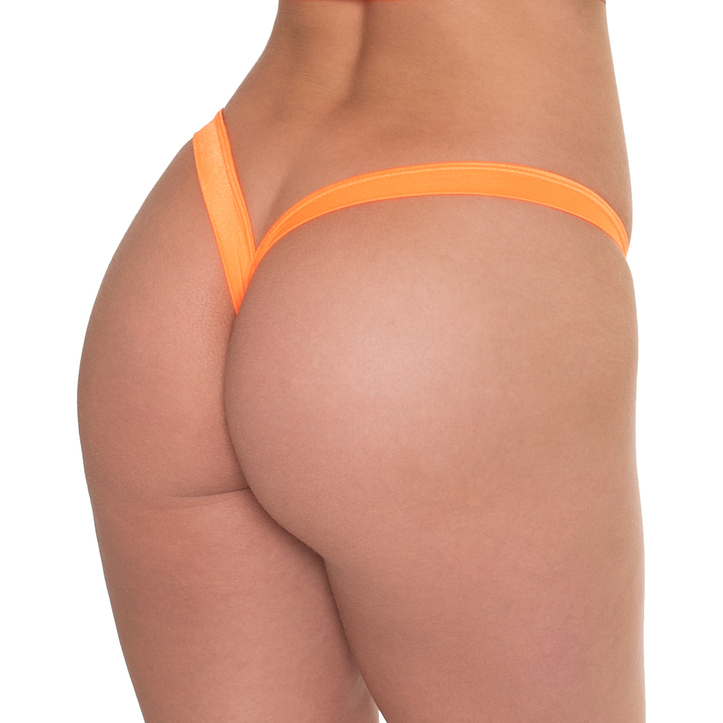 Wide Side Comfort Thong Back