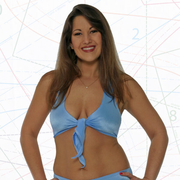 tie top halter top sewing pattern