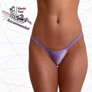 Super Low Rise Comfort Thong Sewing Pattern