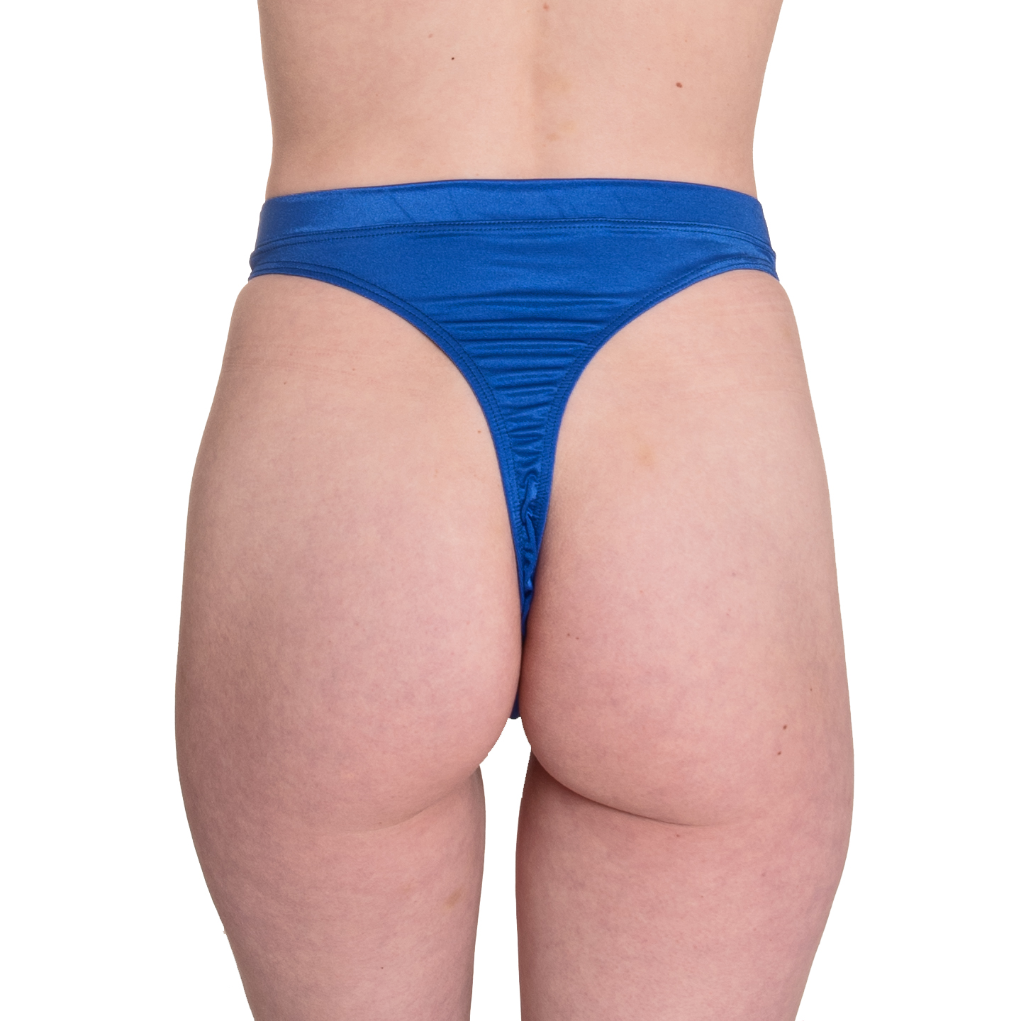 High waist thong sewing pattern back view