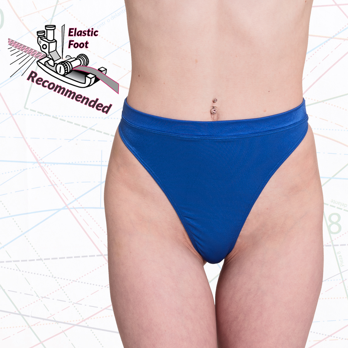 High Waist Thong Sewing Pattern