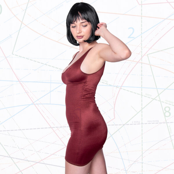 Sexy tank dress sewing pattern in 5 sizes