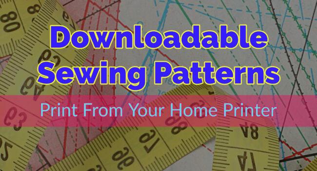 printable shewing patterns