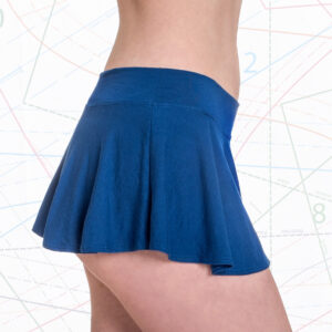 Micro Mini Circle Skirt Sewing Pattern