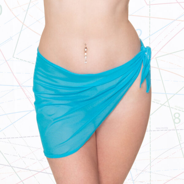 Mid Length Sarong Sewing Pattern