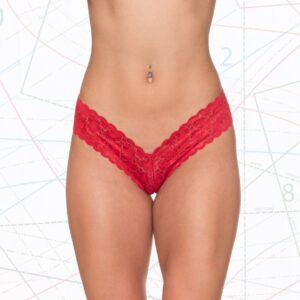 Lace V-Thong Template Sewing Pattern