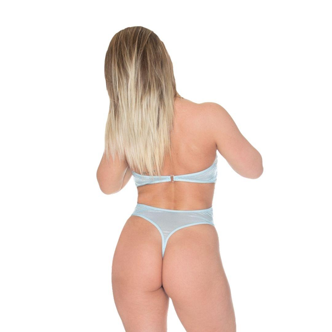 Open Back Thong Bodysuit Sewing Pattern