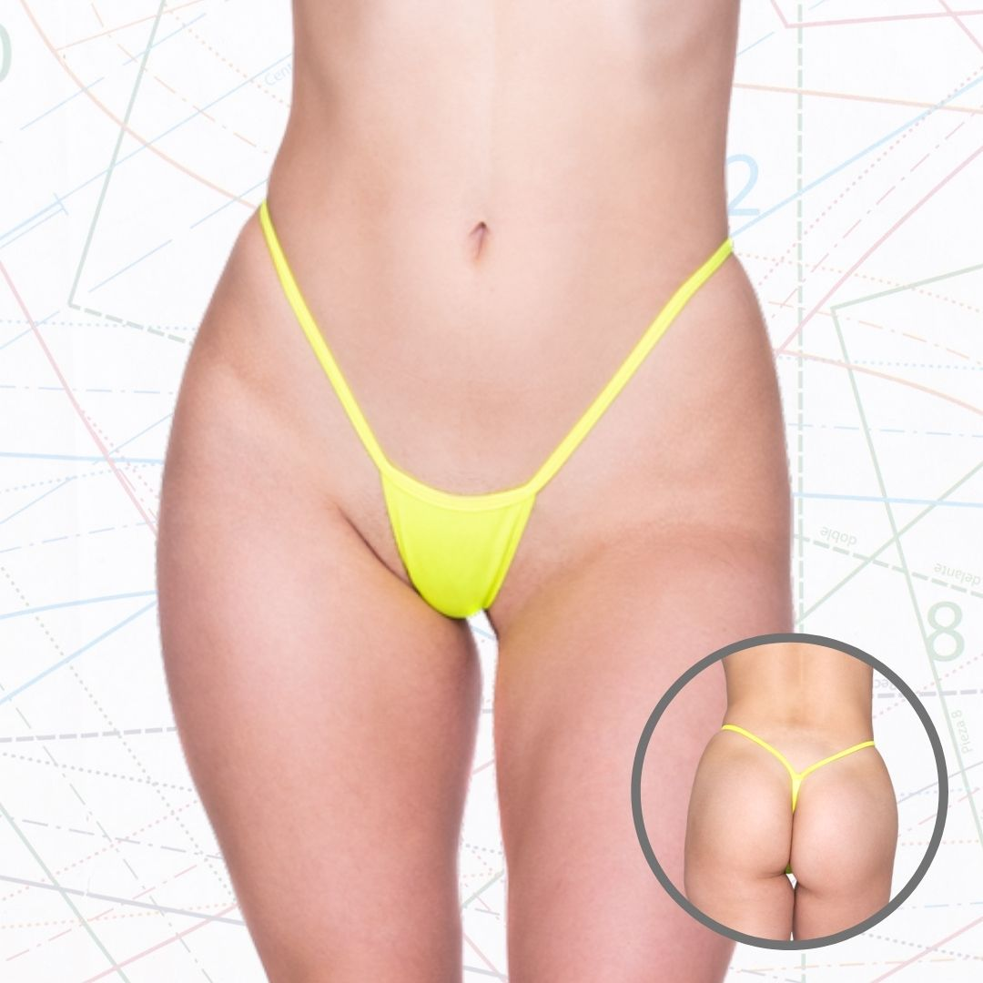Super Low Rise Thong w/ Y-Back Sewing Pattern